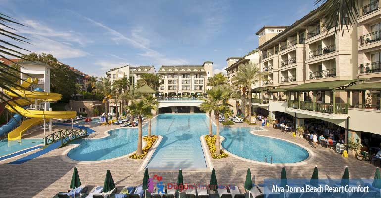 Alva Donna Beach Resort Comfort'ta Balayı Fiyatı