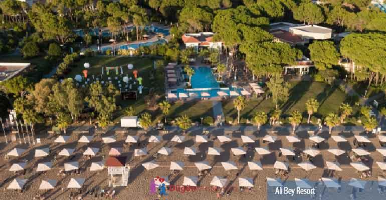 Ali Bey Resort'te Balayı Fiyatı